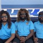 Munko, Chill and Reddey of dive team Carpe Diem Maldives