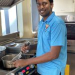 Chef Iresh on Carpe Diem Maldives boats